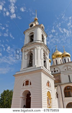 Belfry (1796) Of Dormition Cathedral In Dmitrov, Russia