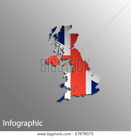 Country Map Of United Kingdom