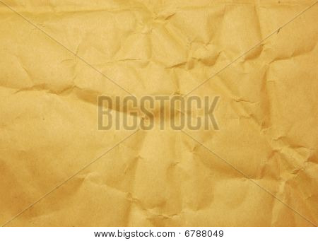 Paper texture of envelope