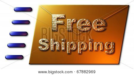 Free Shipping ( Envelope)
