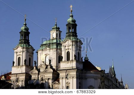 St Nicholas Church In Prague