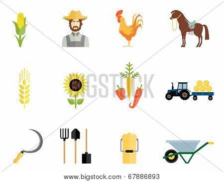 Farmer tools icons