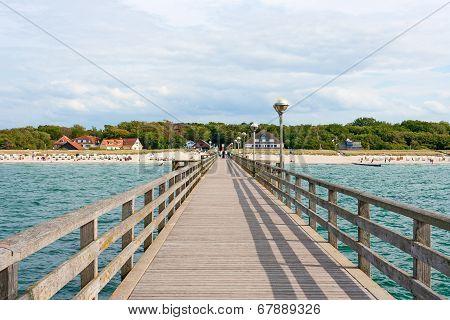 Pier In Graal-mueritz