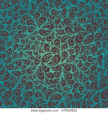 Vector abstract hand drawn seamless pattern