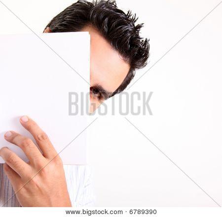versteckte Mann