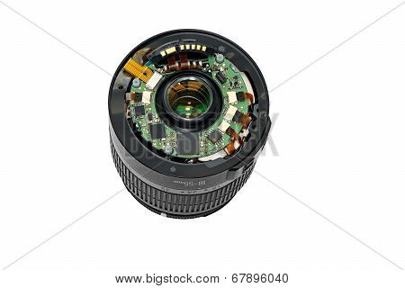 Disassembled Lens.