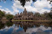 Постер, плакат: Храм Байон Ангкор Тома