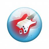 picture of spherical  - Electric guitar - JPG