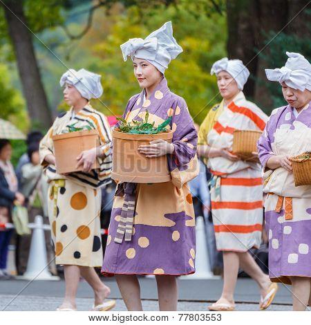 Jidai Matsuri in Kyoto