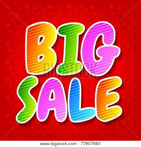 Big Sale.