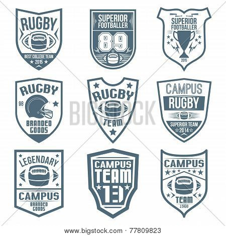 Rugby Emblems