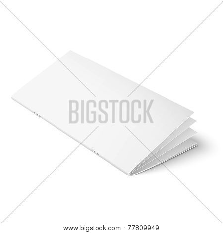 Multipage brochure template on white background.