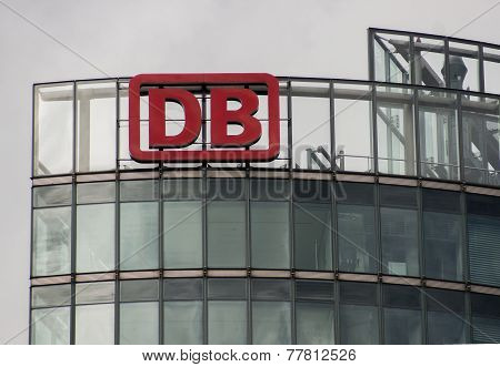 The Logo Of The German Logistics Company Db Deutsche Bahn
