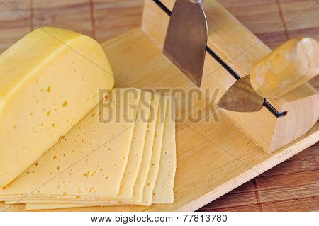 Cheese and knives