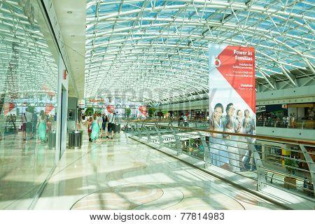 Modern Shoping Mall, Lisbon, Portugal