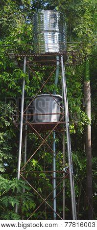 Water Tank tower.