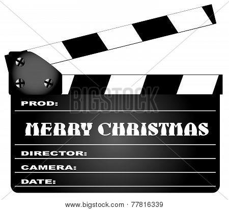 Christmas Clapper Board