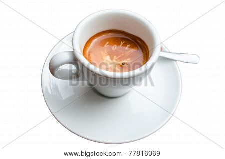 Coffee Cup, Froth Art