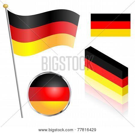German Flag Set