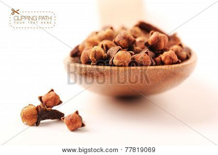cloves with clipping path - 3