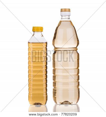 bottles of vinegar