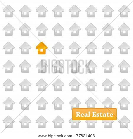 Real estate background.