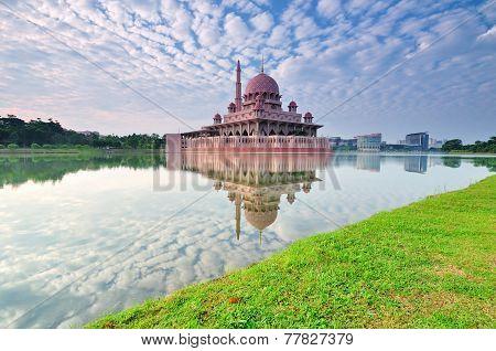 Putra Mosque, Putrajaya Malaysia