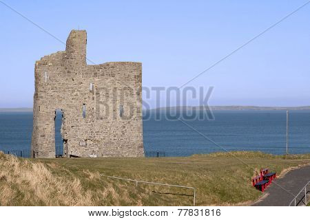 Railed Path To Ballybunion Castle