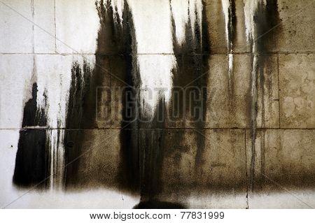 Slurred wall