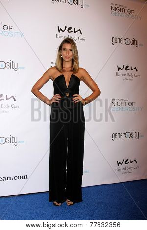 LOS ANGELES - DEC 5:  Renee Bargh at the 6th Annual Night Of Generosity at the Beverly Wilshire Hotel on December 5, 2014 in Beverly Hills, CA