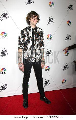 LOS ANGELES - DEC 8:  Matt McAdams at the NBC's