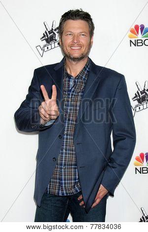 LOS ANGELES - DEC 8:  Blake Shelton at the NBC's