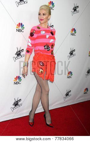 LOS ANGELES - DEC 8:  Gwen Stefani at the NBC's