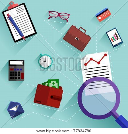 Routine business objects concept
