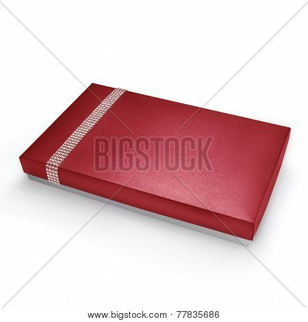 Flat gift Red Box