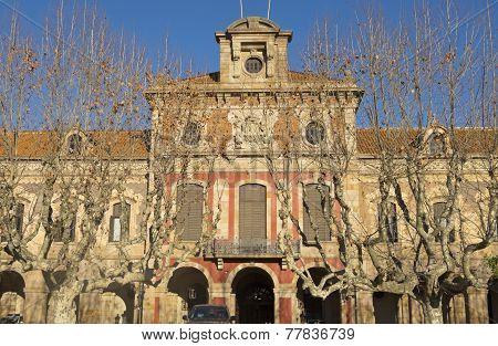 Barcelona - Parliament Of Autonomous Catalonia.