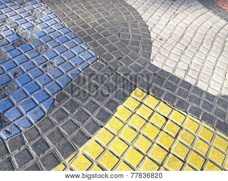 Miro's Mosaic In The Rambla