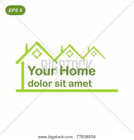 Your Green Home Logo Concept