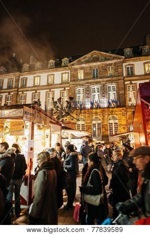 The Oldest Christmas Market In Europe - Strasbourg, Alsace, France