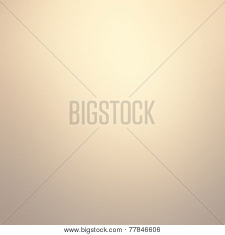 Smooth Gradient Gold Festive Christmas Background. Abstract  Bright Background With  Golden Magic Ef