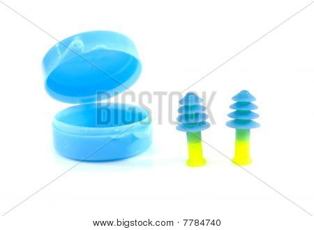 Ear Plugs And Box