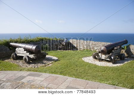 Three Ancient Cannons