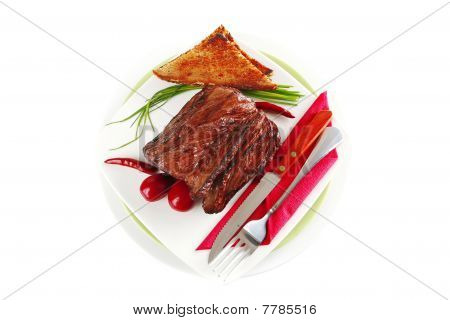 Beef Meat Sectioned
