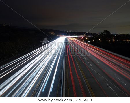 California Freeway Lights