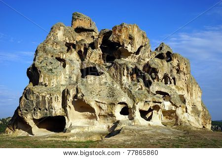 Rock With Caves