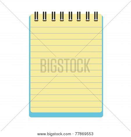 Notepad Notebook Vector.eps