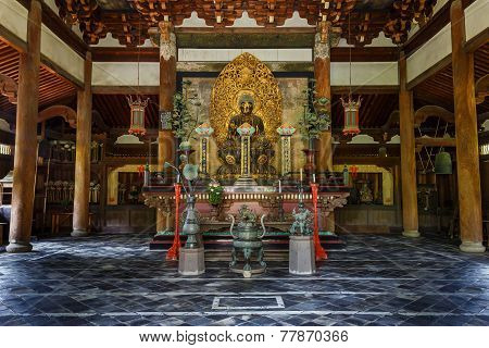 Kyoto, Japan - October 22 2014: Daitoku-ji Temple Founded In 1315 Or 1319, It Is One Of Fourteen Aut