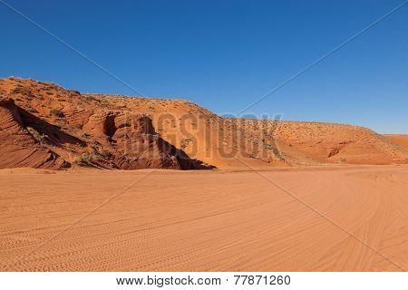 Antelope Canyon Entrance Area