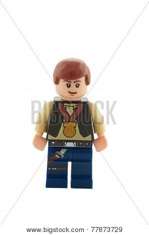 Star Wars Han Solo With Medal Minifigure