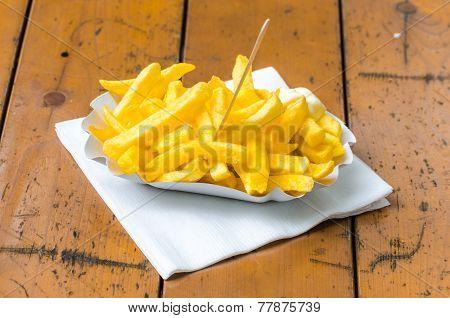 Pommes Frites, Patatas Bravas,